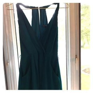 Express Teal Romper Size 4